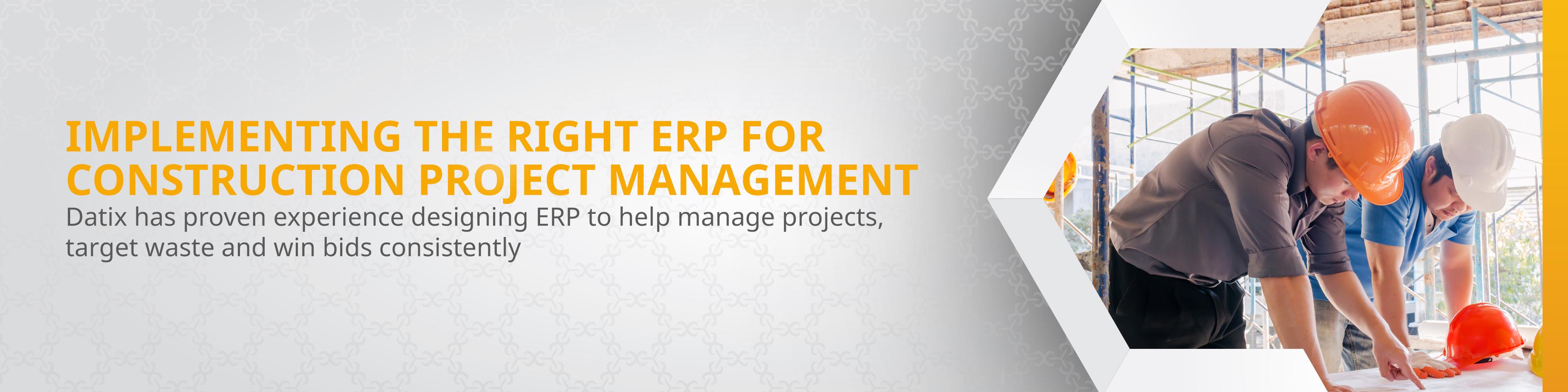 Construction Project Management ERP