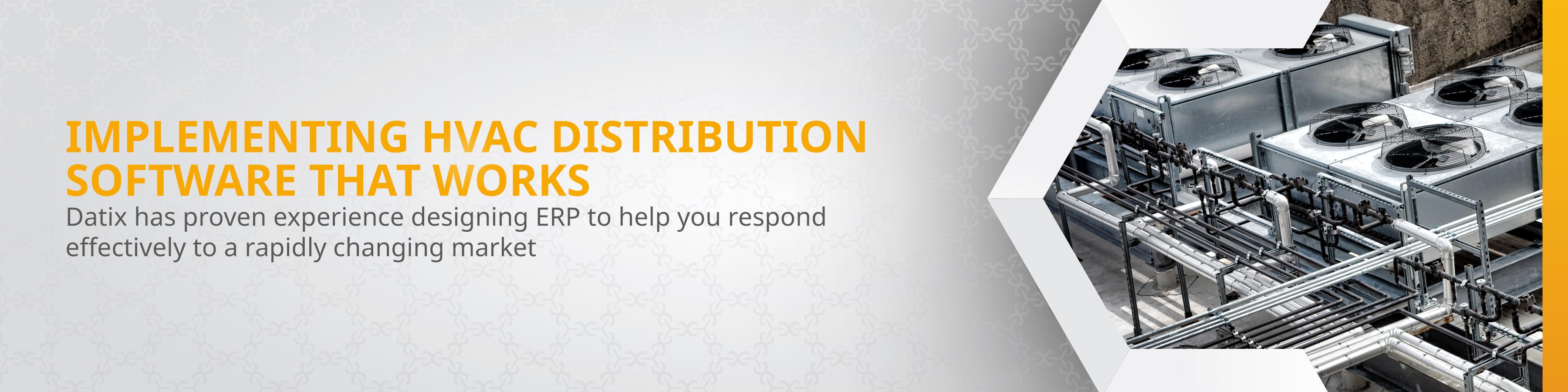 HVAC Distribution Software