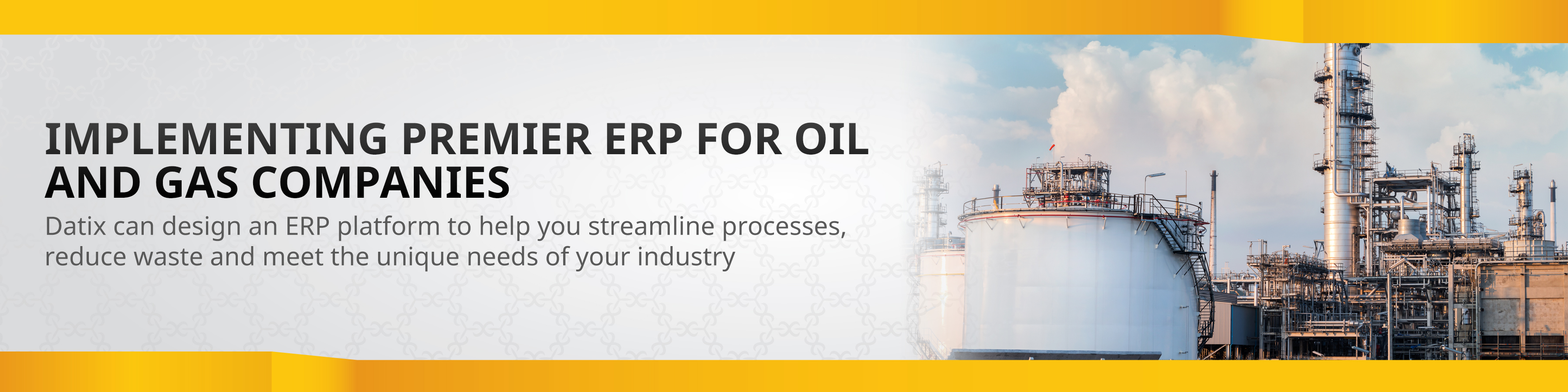 Oil and Gas ERP