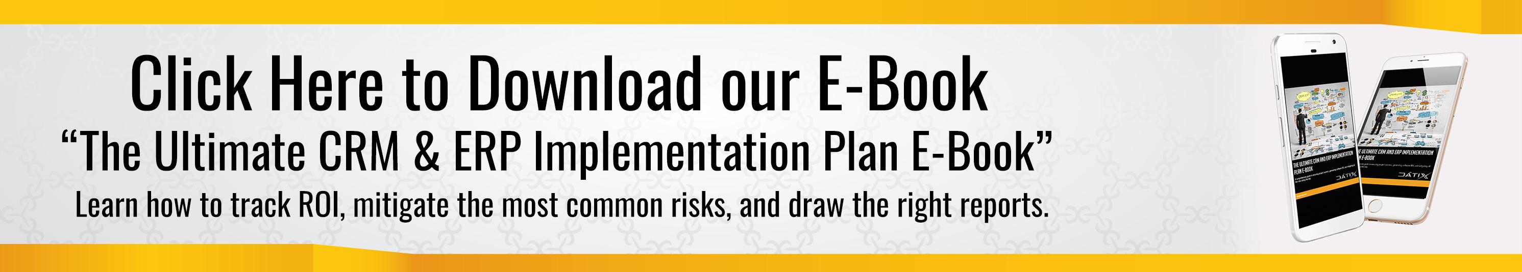 CRM ERP Implementation E-Book